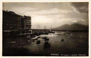 CPA NAPOLI S. Lucia e grandi Alberghi. ITALY (525488)