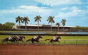 Miami, FL, USA Hialeah Race Course Horse Racing Unused