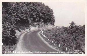 Kentucky U S Highway 27 At Halls Gap Between Somerset &  Stanford Real...