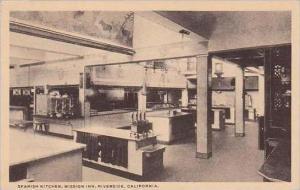 California Riverside Spanish Kitchen Mission Inn