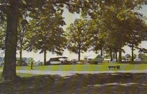 Ohio St Mary's View Of State Park Camping Area Grand Lake St Mary's