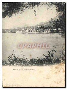 Old Postcard Menton Garavan vueprise