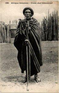 CPA AK Fortier 188, Afrique Occidentale- Vieux chef Kikouyouf, SENEGAL (761714)