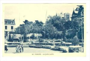 Paramé , France, 1910s   Le Jardin public