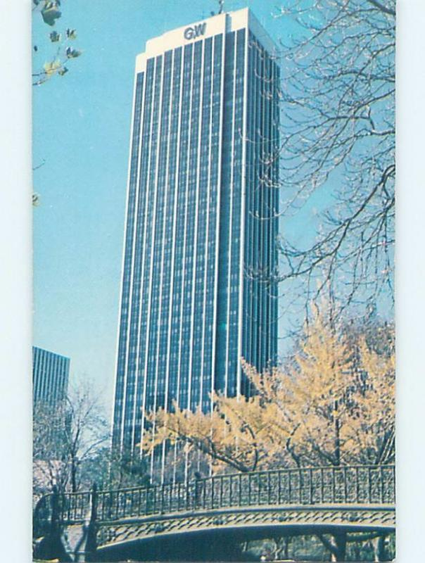 Unused Pre-1980 GULF AND WESTERN BUILDING New York City NY hn8445