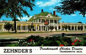 Michigan Frankenmuth Zehnder's Restaurant Famous Chicken Dinners