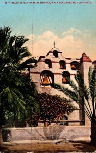 California Los Angeles Mission Bells Close To Los Angeles 1912