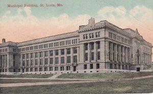 ST. LOUIS, Missouri, 1900-1910s; Municipal Building