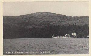 RP; The Steamer on Coniston Lake, England, United Kingdom, 00-10s