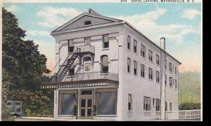 North Carolina Waynesville Hotel Lefaine 1934 Curteich