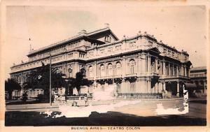 Buenos Aires Argentina Teatro Colon Buenos Aires Teatro Colon