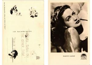CPA AK Dorothy Lamour FILM STAR (554030)