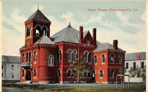 LP70   Donaldsonville  Louisiana Court House Postcard