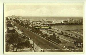 tp2721 - Promenade Gardens & Pier , Clacton-on-Sea , Essex - postcard