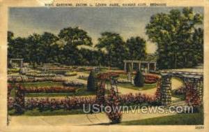 Rose Gardens, Loose Park Kansas City MO Unused