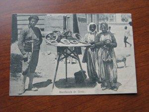Turkey Postcard 1909-15 UDB Unused Merchants of Simita