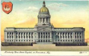 Kentucky New State Capitol, At Frankfurt, Kentucky, 1900-1910s