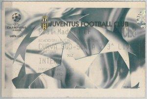 65585 - Vecchio  BIGLIETTO PARTITA CALCIO Champions -  2003 : JUVE / REAL MADRID