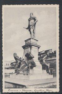 Italy Postcard - Livorno - Monument Quattro Mori   RS20008