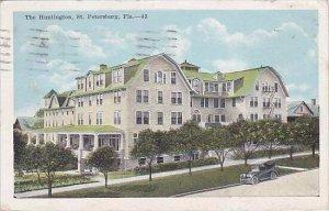 Florida St Petersburg Huntington Hotel 1921