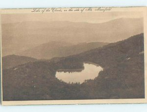 W-border LAKE OF THE CLOUDS Mount Mansfield - Stowe Vermont VT AD4685