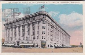 Canada The Winnipeg Department Store Of The Hudson's Bay Company Winnipek Man...