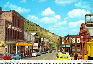 Nevada Virginia City Downtown Main Street
