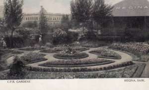 REGINA , Saskatchewan , Canada , 1900-10s ; C.P.R. Gardens
