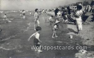 Norway, Norwegian, Norge, Norske Malo-les-Bains Scene de Plage Real Photo