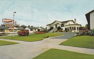 Exterior,  Peacock Auto Court,  Vancouver,  B.C.,  Canada,  40-60s