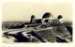 Real photo, Griffith Observatory