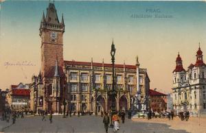 Czech Republic Prague city hall