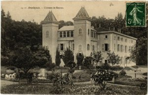 CPA AMPLEPUIS Chateau de RONNO (461439)