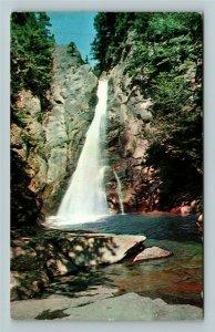 Pinkham Notch NH- New Hampshire, Glenn Ellis Falls, Mt. Wildcat Chrome Postcard