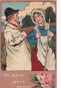 Art card: The Rose. Love. England., PU-1906