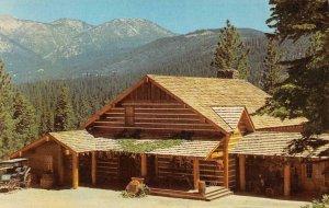 Lake Tahoe Bonanza TV Show PONDEROSA RANCH Incline Village Vintage Postcard