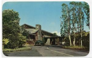 Volcano House Hawaii National Park HI 1950s postcard
