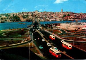 Turkey Istanbul Panoramic View 1975
