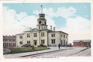 Administration Building, Navy Yard, Portsmouth, New Hampshire, 10-20s