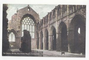Edinburgh Scotland Holyrood Palace Chapel Royal Vtg Postcard