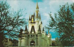 Castles Cinderella Castle Fantasyland Walt Disney World Orlando Florida 1975