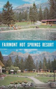 Hot Mineral Baths and Swimming Pool, Fairmount Hot Springs Resort, British Co...
