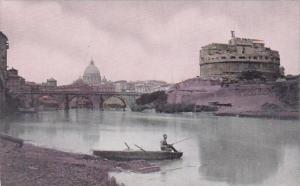 Italy Rome Castle Of St Angelo