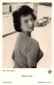 Sophia Laren Foto Fried Agency Film Star Postcard