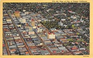 Air View of City of Fresno Fresno CA