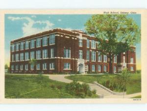 W-Border HIGH SCHOOL SCENE Sidney Ohio OH E2546