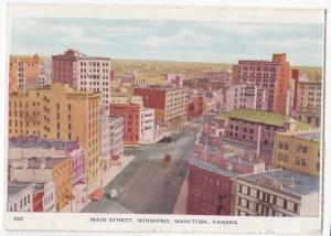 Canada; Main St, Winnipeg, Fold Out Lettercard 1947 PMK to Mr Cuthbert, Kilmaurs