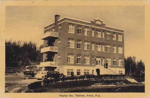 Hopital Ste. Therese, Amos, Quebec, Canada, 1900-1910s