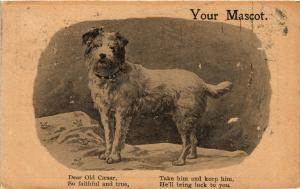 CPA Your Mascot, Dear old Caesar, so faithful and true DOGS (727521)