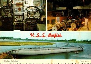 Oklahoma Muskogee World War II Submarine U S S Batfish With Interior Views At...